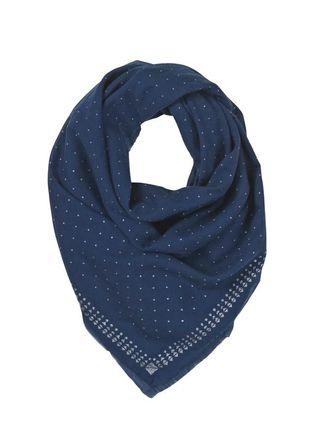 Glitter dots sailor foulard becksondergaard voile de coton bleu brillant